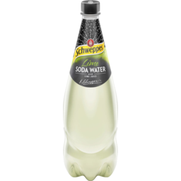 Photo of Schweppes Lime Soda Water 1.1lt
