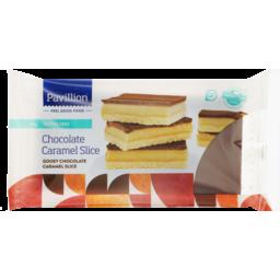 Photo of Pavillion Foods Slice Gluten Free Chocolate Caramel 330g
