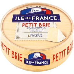 Photo of Ile De France Brie Petite 125g