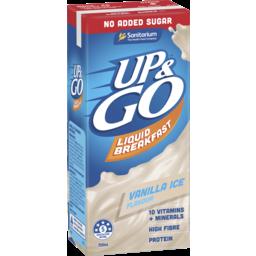 Photo of Up&Go No Added Sugar Vanilla Ice 350ml