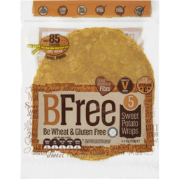 Photo of Bfree 5 Sweet Potato Wraps 210g