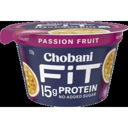 Photo of Chobani Fit Passion Fruit Greek Yogurt 170g