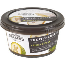 Photo of Barker's Fruit For Cheese Fruit Paste Feijoa & Pear 210g