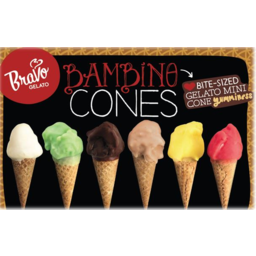 Photo of Bravo Gelato Bambino Cones After Dinner