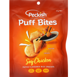 Photo of Peckish Puff Bites Soy Chicken 80g