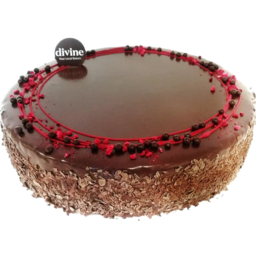 Photo of Divine Chocolate Raspberry Torte Large
