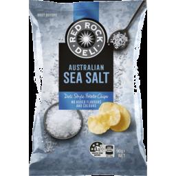 Photo of Red Rock Deli Chips Sea Salt 90g