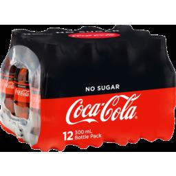 Photo of Coca Cola No Sugar 12pk