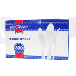 Photo of Club Select Heavy White Spoons