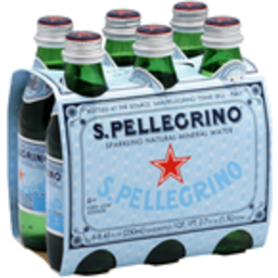 Photo of San Pellegrino Sparkling Water 6x250ml