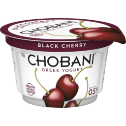 Photo of Chobani Greek Yogurt Black Cherry 170g