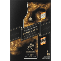 Photo of Johnnie Walker Black Label Blended Scotch Whisky Aged 12 Years 700ml