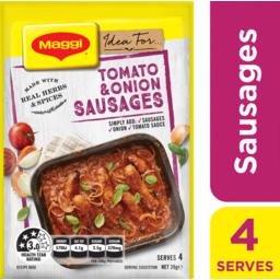 Photo of Maggi Recipe Mix Tomato Onion Sausages 39g