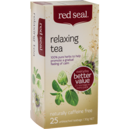 Photo of Red Seal Tea Bag Relaxing 25s 30g 30g