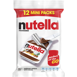 Photo of Nutella Hazelnut Spread With Cocoa 12 Mini Pack 180g