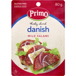 Photo of Primo Salami Dansh Thin Slice 80gm