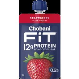 Photo of Chobani Fit Greek Yogurt Strawberry 140g
