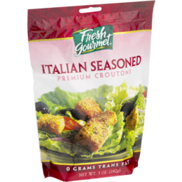 Photo of Fresh Gourmet Premium Croutons Italian Seasoned