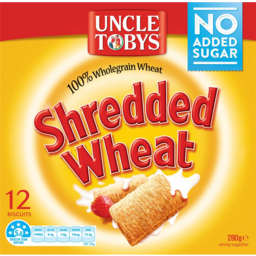 Photo of Uncle Toby's Shredded Wheat Breakfast Cereal 270gm