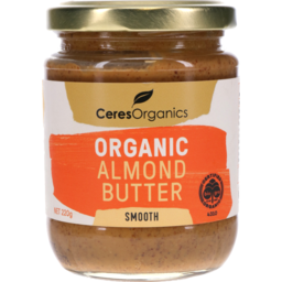 Photo of Ceres Organics Almond Butter In Conversion 220g