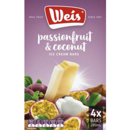 Photo of Weis Passionfruit C/Nut 280ml 4pk