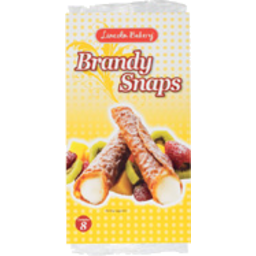 Photo of Lincoln Bakery Brandy Snaps 8 Pack