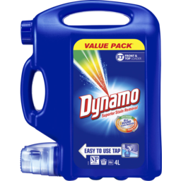 Photo of Dynamo All-Round Stain Removal, Liquid Laundry Detergent, 4l