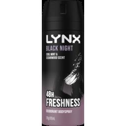 Photo of Lynx Black Night 165ml