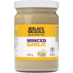 Photo of Black & Gold Minced Garlic 250g