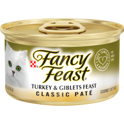 Photo of Purina Fancy Feast Gourmet Petcare Sliced Turkey Giblet 85g