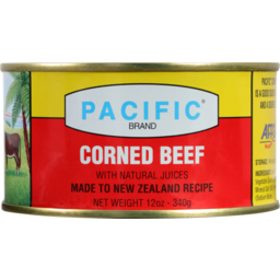 Photo of Pacific Canned Meat Corned Beef Export 340g