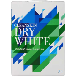 Photo of Cleanskin Dry White 3L