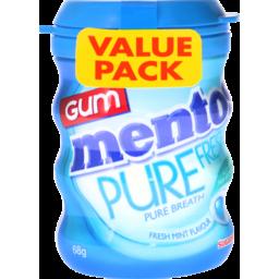 Photo of Mentos Pure Fresh Freshmint Sugar Free Chewing Gum Bottle 68g