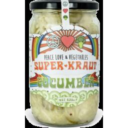 Photo of Peace Love & Veg Cucumber Superkraut
