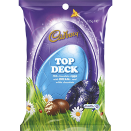 Photo of Cadbury Dairy Milk Easter Magic Top Deck Eggs Bag 125g 125g