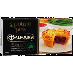 Photo of Balfours Premium Potato Pie 2pk 440g