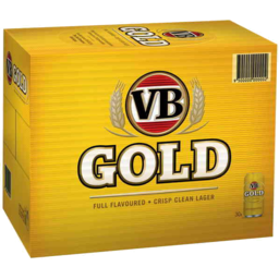 Photo of Vb Gold 30 X 375ml Can