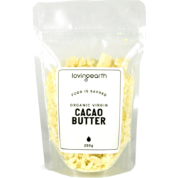 Photo of Loving Earth Cacao Butter (Virgin) - Raw