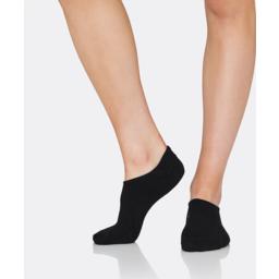 Photo of Womens Active Rib Mesh Sock Black 3-9