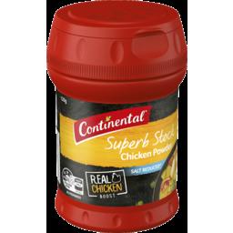 Photo of Continental Chicken Stock Powder Salt Reduced 120g
