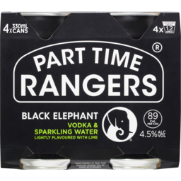 Photo of Part Time Rangers Black Elephant Can