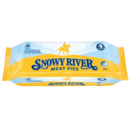 Photo of Snowy River Meat Pie 4pk 600gm