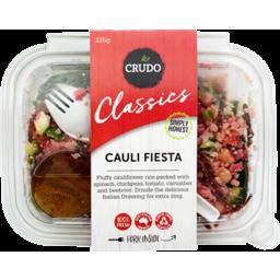 Photo of Crudo Classics Cauli Fiesta Salad 225g