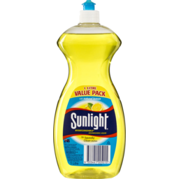 Photo of Sunlight Dishwashing Liquid Natural Lemon 1lt