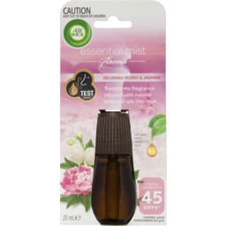 Photo of Air Wick Essential Mist Relaxing Peony And Jasmine Refill 20ml