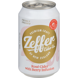 Photo of Zeffer Rose Cider With Berry Infusion 330ml