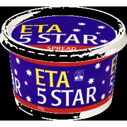 Photo of ETA 5 STAR TABLE SPREAD 500GM