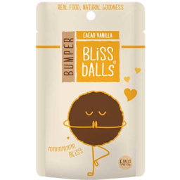 Photo of Bumper Bliss Balls Cacao Vanilla 70g