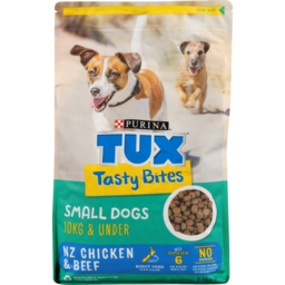Photo of Purina Tux Bites Pet Food Tasty Small Dogs 2.5kg