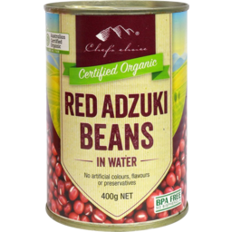 Photo of Chefs Choice Organics Red Adzuki Beans 400g